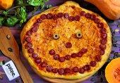 Пицца Тыква на Хэллоуин