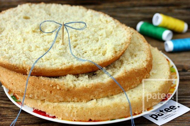 как ровно разделить бисквит на коржи Люблино