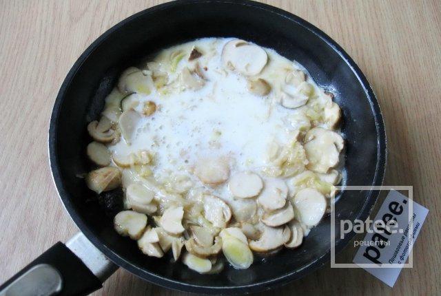 Белый соус для грибов рецепт