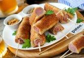 Сосиски в хрустящей хлебной оболочке