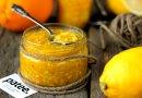 Сырое варенье из фейхоа, апельсинов и лимонов