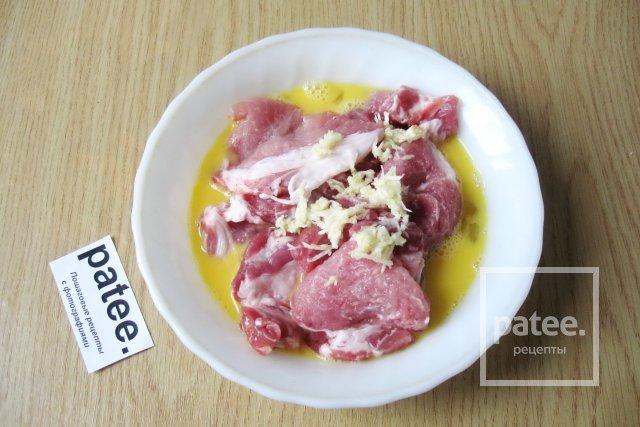 Маринад из соевого соуса для свинины на шашлык