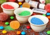Как сделать цветной сахар