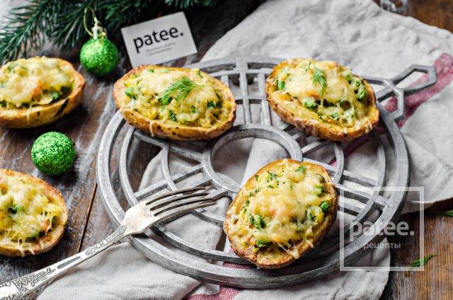 картофель запеченный с яйцами в духовке рецепты