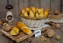 Вертуны из творожного теста с ореховой начинкой