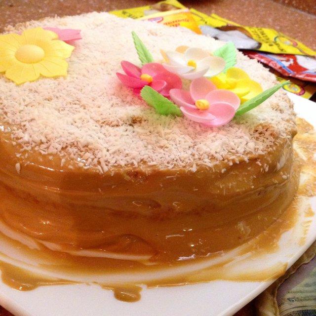 Бисквитный торт нежный рецепт