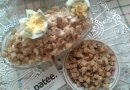 Салат из паштета с гусиной печенью