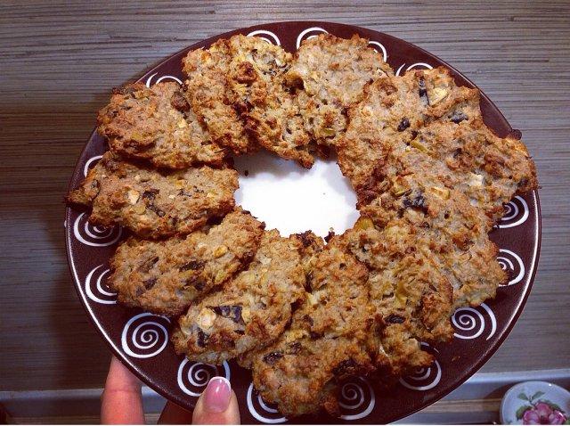 Овсяное пп печенье рецепт пошагово