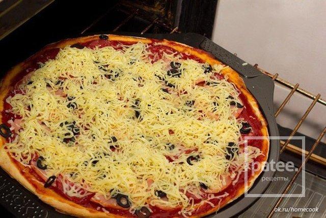 Рецепты пиццы в домашних условиях в духовке