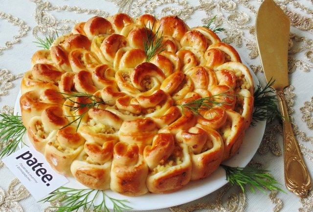 Пирог с фруктами в духовке пошаговый рецепт