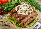 Люля-кебаб из говядины