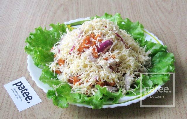 рецепт салата из свинины фото