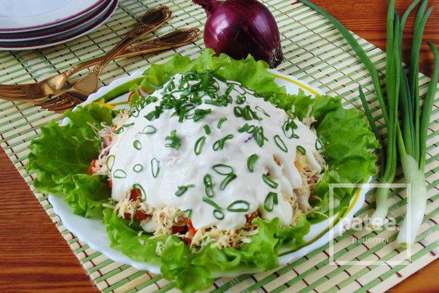 Салат из свинины с фото