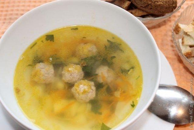 Суп с картофелем и фрикадельками рецепт