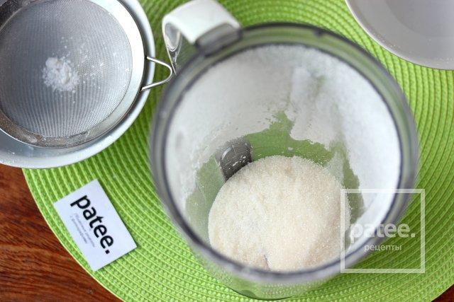 Как из сахара сделать сахарную пудру в домашних условиях в блендере