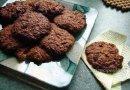 Шоколадное печенье без сахара