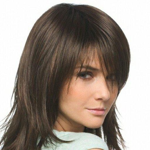 Как филируют волосы до плеч