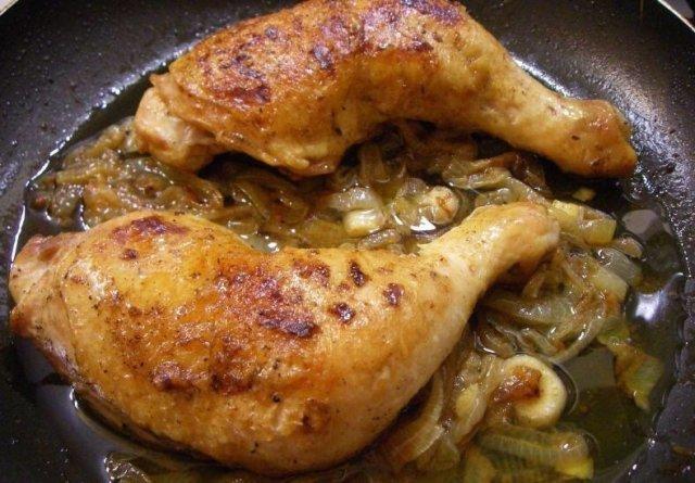 Как пожарить курицу на сковороде пошаговый рецепт с