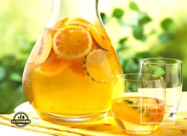 Лимонад из апельсинов в домашних условиях рецепт пошагово