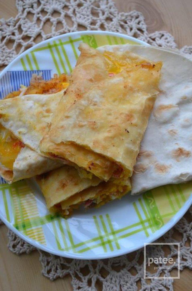 Лаваш сыр яйцо рецепт с пошаговым