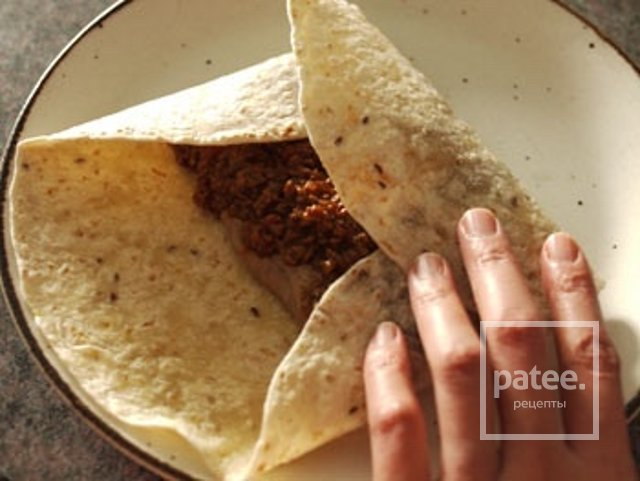 Рецепт бурито в домашних условиях рецепт с пошагово