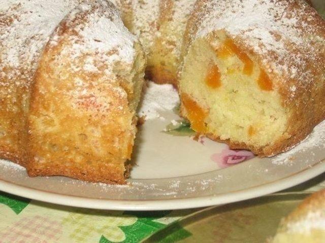 Рецепт быстрого пирога с сухофруктами