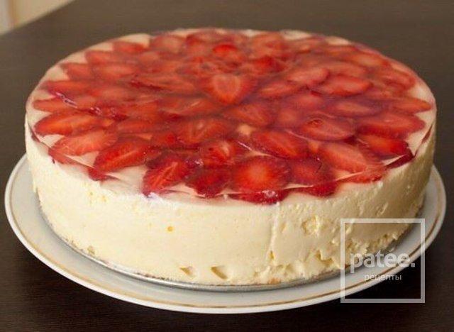 Рецепты торта из клубники
