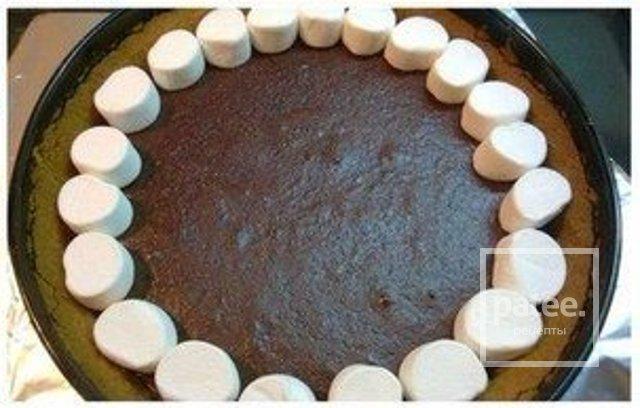 Пирог с маршмеллоу рецепт