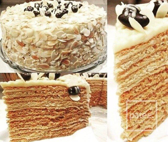 Вкусные торты в домашних условиях медовый