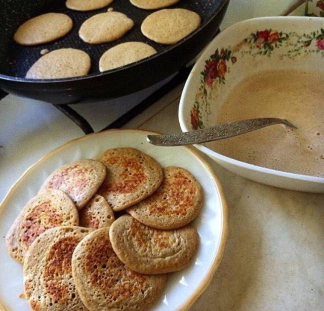 Рецепт оладьев на пп