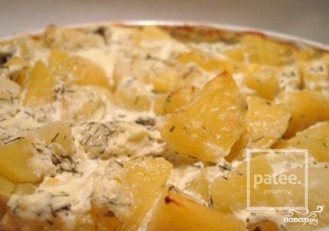 Картошка в духовке со сметаной рецепт с фото пошагово в духовке