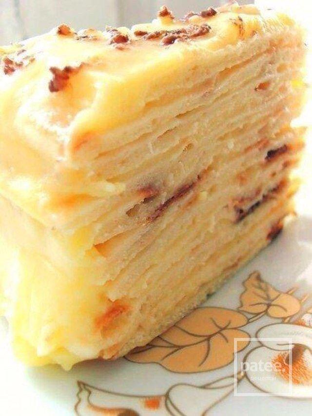 Вкусный торт с заварным кремом рецепт