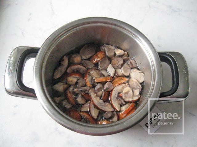 Подосиновики в сметане на сковороде рецепт