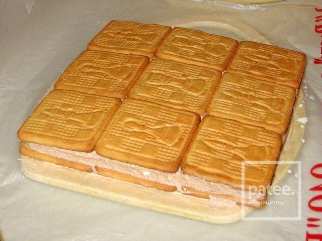 Торт из печенья без выпечки рецепты с пошаговым