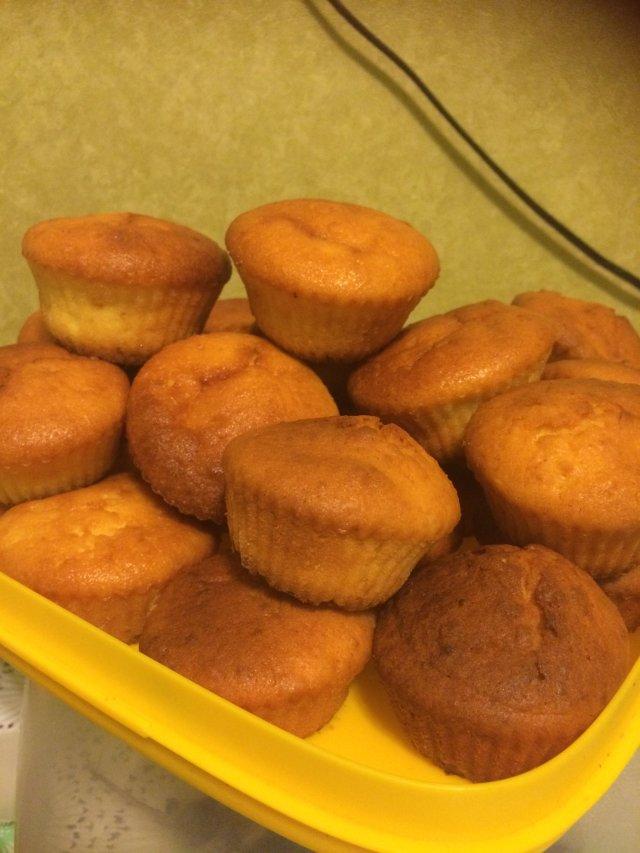 Творожные кексы рецепт с пошагово в силиконовой форме