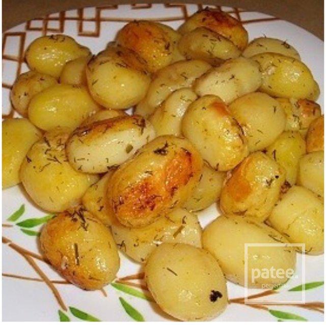Картофель в духовке в пакете рецепт