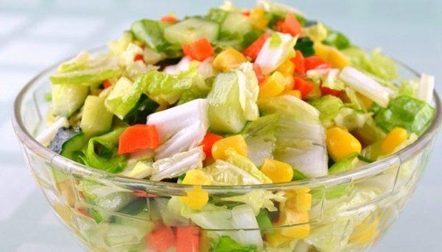 Овощные праздничные салатыы с фото
