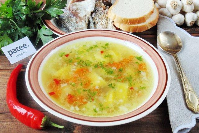 Рыбный суп из карася рецепт с фото