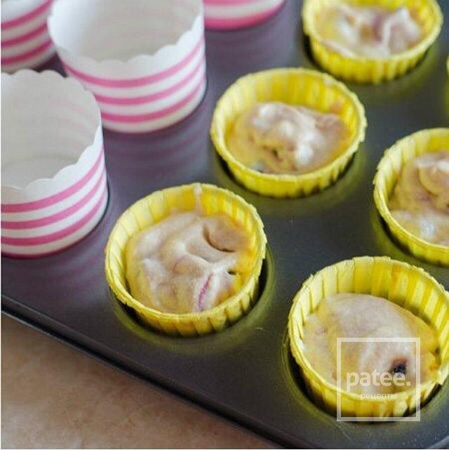 Рецепт капкейки с начинкой внутри с фото пошагово