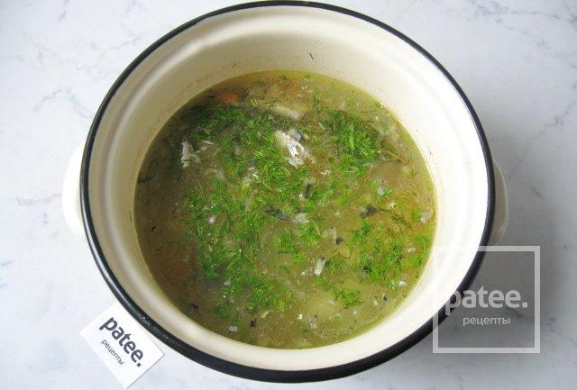 Рецепт супа с рисом и консервами