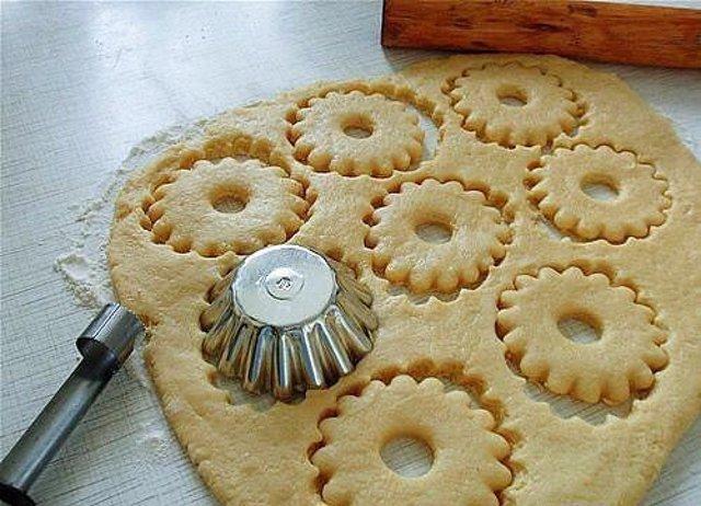 Печенья круглые рецепт с пошагово