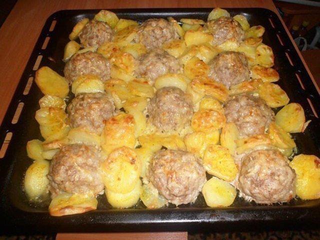 Что бы приготовить из картошки и фарша