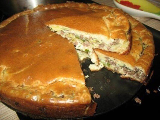 Пирог с капустой нежный рецепт с