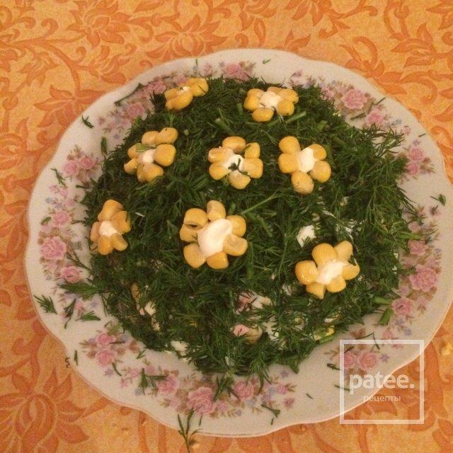 Салат цветочная поляна рецепт
