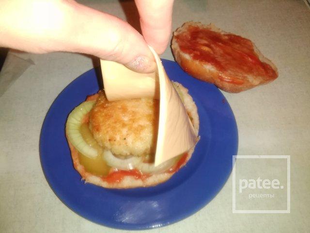 Сделать в домашних условиях котлету для гамбургера