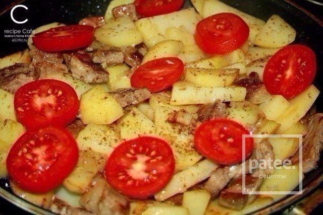 Мясо по французски рецепт на сковороде