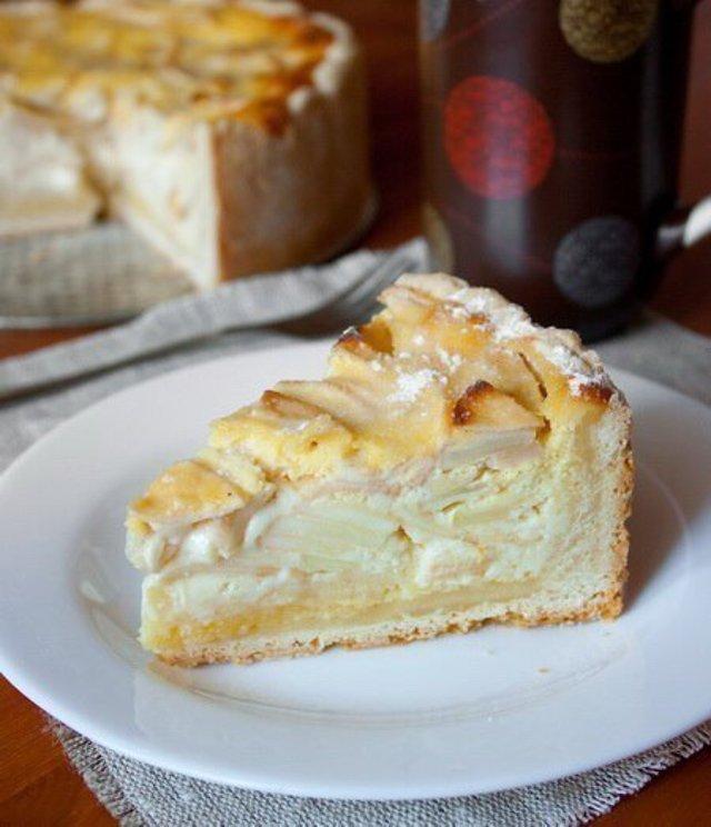 Цветаевский пирог с яблоками в мультиварке рецепт с 2