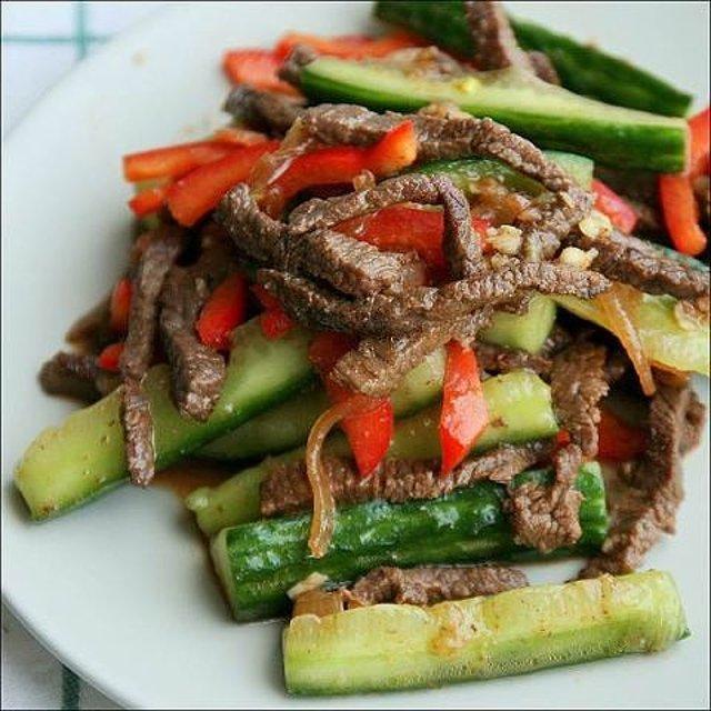Корейские салаты с мясом рецепты