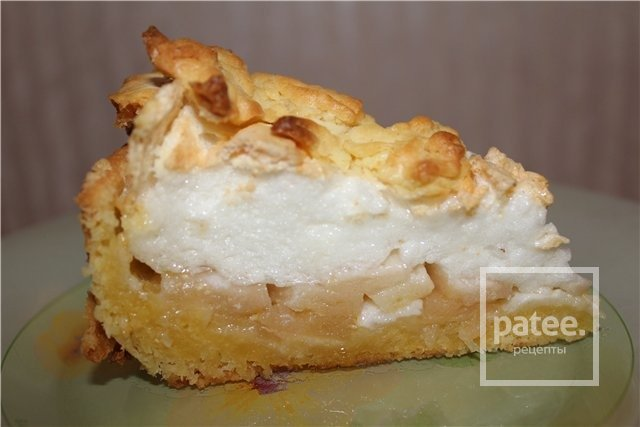 Пирог с меренгой фото рецепт