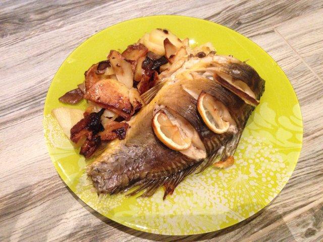 Рецепт блюда из карпа духовке